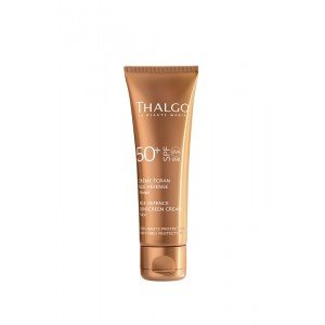Buy Herbal Thalgo Age Defence Sunscreen Cream Face SPF 50 - Nykaa