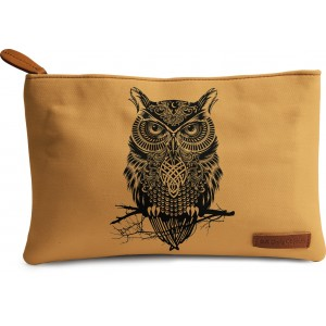 Buy DailyObjects Warrior Owl Carry-All Pouch Medium - Nykaa