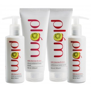 Buy Plum Wild Cherries & Kiwi Fruity Indulgence Set - Nykaa