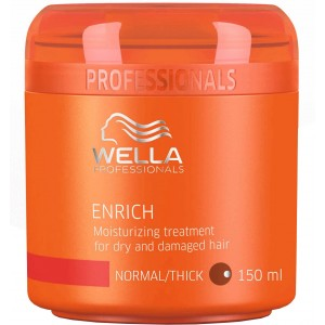 Buy Wella Professionals Enrich Moisturizing Treatment For Dry And Damaged Hair - Nykaa