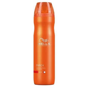 Buy Wella Professionals Enrich Moisturising Shampoo For Dry And Damaged Hair - Nykaa