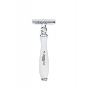 Buy Truefitt & Hill Wellington Double Edge Razor - White - Nykaa