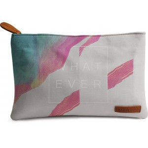 Buy DailyObjects Whatever Grey Carry-All Pouch Medium - Nykaa