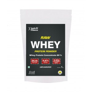 Buy HealthVit Fitness Raw Whey Protein - Nykaa