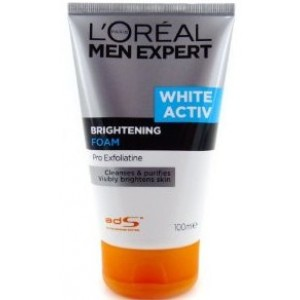 Buy L'Oreal Paris Men Expert White Activ Brightening Foam - Nykaa