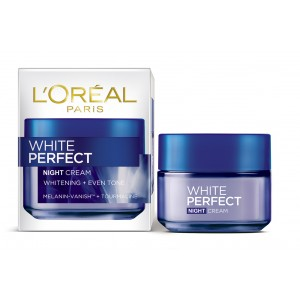 Buy L'Oreal Paris White Perfect Night Cream - Nykaa