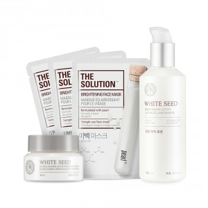 Buy The Face Shop White Seed Brightening Lotion Combo - Nykaa