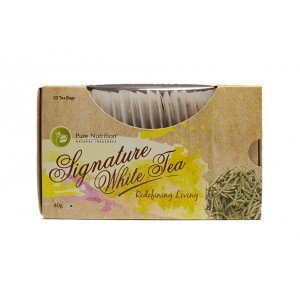 Buy Pure Nutrition Signature White Tea Bags - Nykaa