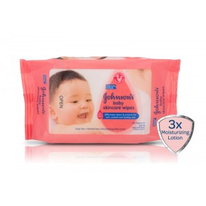 Buy Johnson's Baby Skincare Wipes - Nykaa