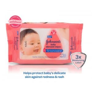 Buy Johnson & Johnson Baby Skincare Wipes - Nykaa