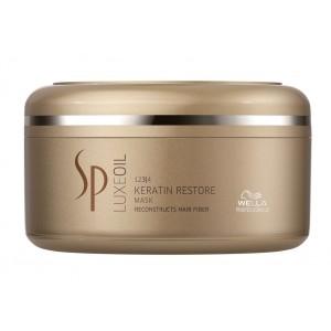 Buy Wella Professionals SP LuxeOil Keratin Restore Mask 150ml - Nykaa