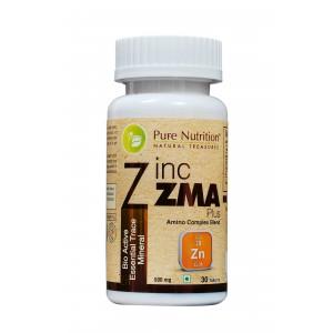 Buy Pure Nutrition Zinc ZMA Plus 30 Capsules - Nykaa