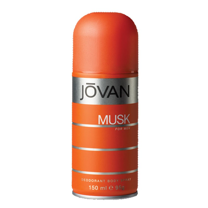 Jovan Deo Musk For Men(150ml) available at Nykaa for Rs.185