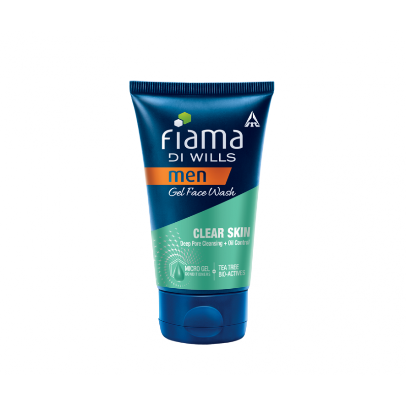 Fiama Di Wills Men Clear Skin Gel Face Wash(100gm) available at Nykaa for Rs.153