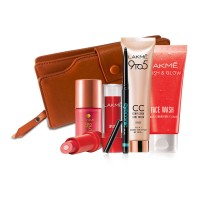 Lakme Pink Frost Combo + Free Wallet