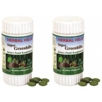 Herbal Hills Super Greenhills Tablets (Buy 1 Get 1)