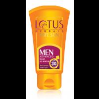 Lotus Herbals Safe Sun Men Advanced Daily UV shield PA+++I SPF-30