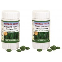 Herbal Hills Wheat-O-Power Tablet (Buy 1 Get 1)