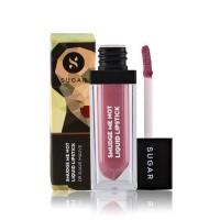 SUGAR Smudge Me Not Liquid Lipstick - 09 Suave Mauve (Mauve)
