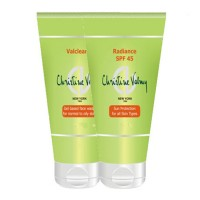 Christine Valmy Val Clean 2 + Radiance SPF 45 Combo