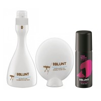 BBLUNT Perfect Balance Shampoo + Conditioner + One Night Stand Temporary Hair Colour, Blush Pink