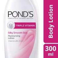 Ponds Triple Vitamin Moisturising Body Lotion (300ml)