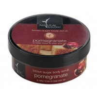 Natural Bath & Body Brown Sugar Body Scrub - Pomegranate