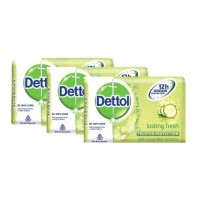 Dettol Lasting Fresh Soap (Pack Of 3) (Rs. 9 off)