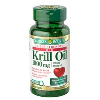 Nature's Bounty Triple Strength Red Krill Oil 1000 mg