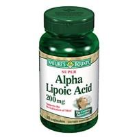 Nature's Bounty Super Alpha Lipoic Acid 200 mg