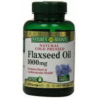 Nature's Bounty Flaxseed Oil 1000 mg