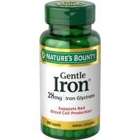 Nature's Bounty Gentle Iron 28mg Iron Glycinate