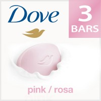 Dove Pink Rosa Beauty Bathing Bar - Pack Of 3 (Rs. 10 Off)