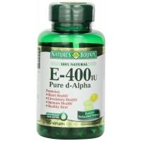 Nature's Bounty E-400 Iu Pure Di - Alpha