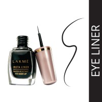 Lakme Insta Liner Eye Liner, Black, 9 Ml - Black