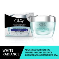 Olay White Radiance Brightening Night Essence Moisturiser - 50gm