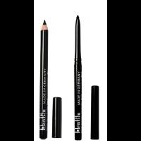 Elenblu Classic Eyeliner Pencil ( 4 Hours Long Lasting) + Elenblu Everyday Auto Eyeliner Pencil (12 Hours Long Lasting)