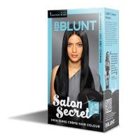BBLUNT Mini Salon Secret High Shine Creme Hair Colour - Black Natural Black 1 (Off Rs.11)