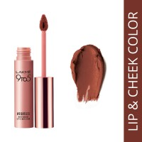 Lakme 9 to 5 Weightless Matte Mousse Lip & Cheek Color - Coca Soft