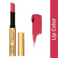 Lakme Absolute Luxe Matte Lip Color With Argan Oil - Crimson Town