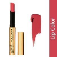 Lakme Absolute Luxe Matte Lip Color With Argan Oil - Crimson Lush