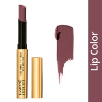 Lakme Absolute Luxe Matte Lip Color With Argan Oil - Ruby Satin