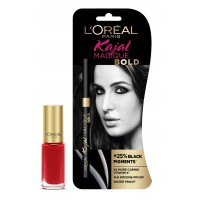 L'Oreal Paris Kajal Magique Bold + Color Riche Vernis L'Amour