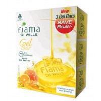 Fiama Di Wills Pure Rio Splash Bathing Bar (Set Of Three)