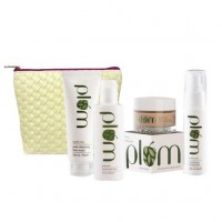Plum Skin Care Kit For Oily & Acne Prone Skin + Free Crossweave Kit Bag