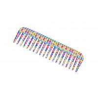 FeatherFeel Printed Italian Weave Shampoo Comb