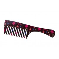 FeatherFeel Printed Starry Night Handle Comb