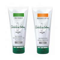 Christine Valmy Val Clean 1 + Radiance SPF 45 Combo