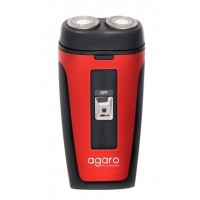 Agaro Two-Head Rotary Shaver DS-581 (Red)