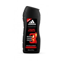 Adidas Team Force Shower Gel With Orange Extract